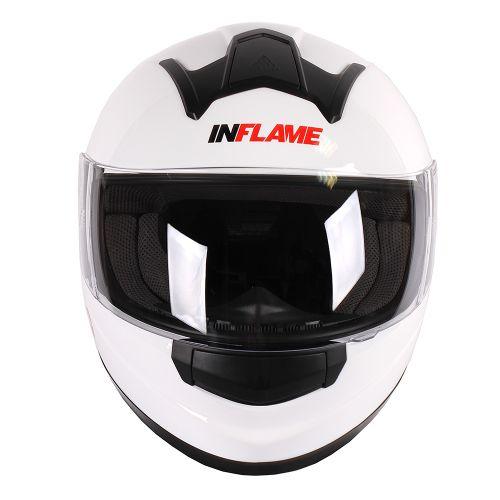 Шлем интеграл INFLAME OFFICER моно, белый